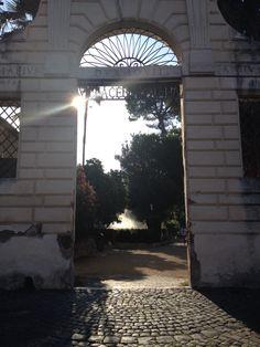 Villa Celimontana Entrance