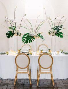 Folhagem no Casamento | Costela de Adão | Noiva de Evasê | Blog de Casamento