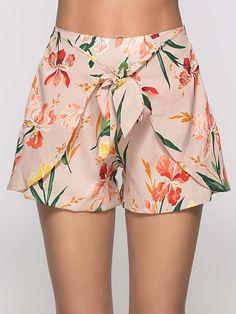 Hot Shorts, Belted Shorts, Loose Shorts, Short Outfits, Cute Outfits, Stylish Outfits, Pantalon Thai, Jupe Short, Boho Skirts