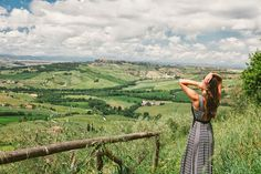 One of my favourite views from the tiny town of Monticchiello in Tuscany.