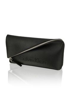 Clutches für Frauen - Clutch Calvin Klein schwarz Shopper, Hand Bags, Clutch Wallet, Clutches, Calvin Klein, Women, Fashion, Wallet, Moda