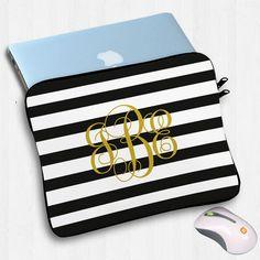 Personalized laptop sleeve macbook macbook pro by OnlyOneGift