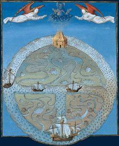 Les propriétés de l'eau  Barthélemy l'Anglais, Livre des propriétés des choses. XVesiècle