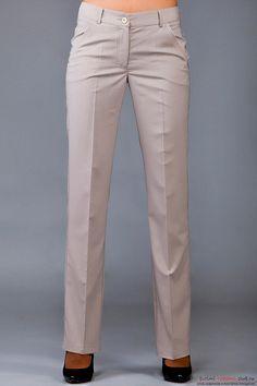Инструкция по построению выкройки женских брюк классической модели. Фото №3
