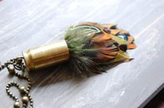 Fall season is back again.. this feather necklace is perfect for the season!