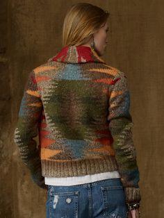Cropped Shawl Cardigan - Cardigans  Sweaters - RalphLauren.com
