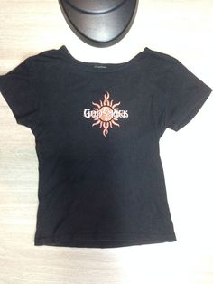 GODSMACK T-Shirt WOMEN S GIRLS BLACK BABYDOLL-FIT WITH CLASSIC SUN LOGO. Tee  Shirt City · Rock T-Shirts · Men s Vintage RARE Lenny Kravitz ... ce92f1f362e9