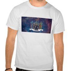 New York Flag Nebula Tshirts
