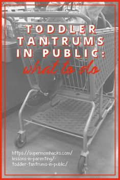 Ever mortified by toddler tantrums in public? As a mama who's been around the block a few times here's how to end them for good. Toddler Tantrums In Public: What To Do - SuperMomHacks Parenting Toddlers, Parenting Advice, Toddler Milestones, Toddler Development, Peaceful Parenting, Happy Kids, Raising Kids, Toddler Activities, Baby Care