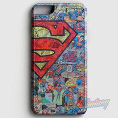 Superman Comics iPhone 6 Plus/6S Plus Case   casefantasy