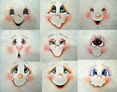 Resultado de imagem para Cute Snowman Faces to Paint Snowman Faces, Cute Snowman, Snowman Crafts, Christmas Projects, Holiday Crafts, Christmas Snowman, Christmas Crafts, Christmas Decorations, Christmas Ornaments