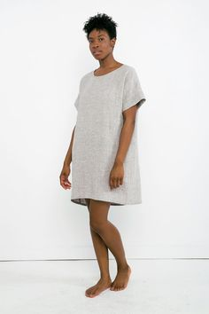 Georgia Dress in Linen Gauze