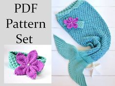 Mermaid Tail PATTERN for Children Knitting Pattern Mermaid