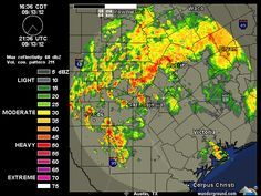 Thursday 8/13/2012.     Current Austin-San Antonio NEXRAD Radar Map | Weather Underground