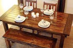 Resultado de imagen para wooden dining tables