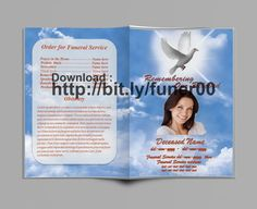 74 best funeral program templates for ms word to download images
