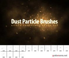 Dust Particle Brushes set