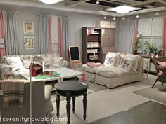 Serenity Now: IKEA Shopping and Home Decor, Fall 2012 - color scheme for nursery