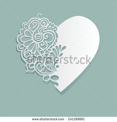Heart Paper Cut Stock Photos, Images, & Pictures | Shutterstock