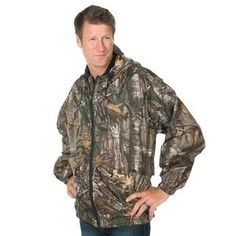 Men's Dunbrooke� Huntsman Camouflage Work Jacket #workjacket #camojacket #windresistantwaterproofjacket