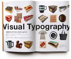 typography, magazine, house industries, japan