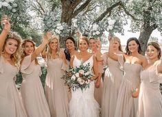 @amandasbridal posted to Instagram: Friday vibes💋 . . Bridesmaids are wearing style 21571 in the color Latte ✨designed by @morileeofficial #abtbridetobe #amandasbridalandtux #coloradobride #rockymountainbride #instawed #denverwedding #weddingdressgoals #coloradowedding #weddingown #denverbride #morileeinstoreboutique #love #romanticbride #denverbridalshop #bridestyle #morileeofficial #bridalshop #weddingstyle #madelinegardner #ifoundthegown #topbridalsalon #happiestday #celebrate Mori Lee Bridesmaid, Bridesmaid Dresses, Wedding Dresses, Bridesmaids, Bridal Salon, Wedding Styles, Gowns, Celebrities, Latte