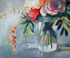 Erin Gregory Art - I would love to have my bouquet painted as a keepsake :)