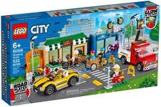 Lego City Sets, Lego Sets, Gifts For Boys, Toys For Boys, Lego Road, Modele Lego, Velo Cargo, Construction Lego, Playmobil