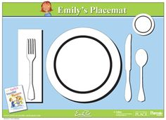 Printable Placemat for Learning How to Set the Table from Emily Post- so the kids can set the table correctly. This would be helpful since they're helping with table setting and clearing now! Help Teaching, Teaching Resources, Teaching Materials, Etiquette And Manners, Montessori Practical Life, Dramatic Play, Activity Days, Social Skills, Life Skills