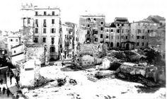 ANNUNCIATA DEMOLISHED - 1960's... Corfu Island, Corfu Greece, Old Photos, New York Skyline, Paradise, Travel, Old Pictures, Viajes, Vintage Photos