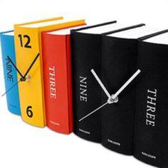Booky clocks