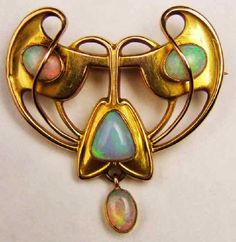 Charles Robert Ashbee | Guild of Handicraft Brooch, English, ca. 1898