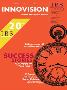 Innovision Special Issue Jan 2016  IBS Ahmedabad releasing special issue of Innovision - the campus magazine, on the completion twenty years in academic delivery.