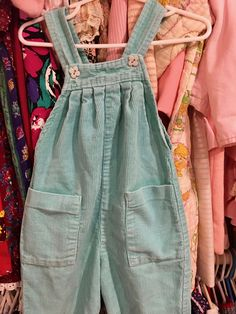 80s Corduroy Overalls 18/24 Months by lishyloo on Etsy