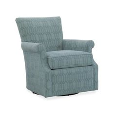 Sam Moore Liam Swivel Arm Chair Finish: Java, Upholstery: 2702 Mocha