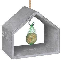 Vogelhaus aus Beton