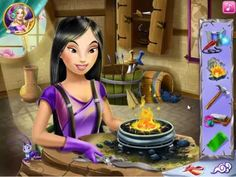 Warrior princess crafts game play for childrens,fun game for kids,super ...
