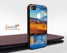 iphone 4 protector verizon iphone 4 case i unique Iphone case phone 4s case iphone 4 cover painting scenery design. $13.99, via Etsy.
