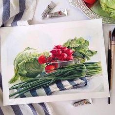 I think salad will be the best idea  капуста за неделю совсем завяла, даже в кадр поместить стыдно