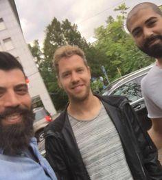 """sebastian-vettel-fans:"""" Seb with fans in Zurich yesterday (x)."""""""