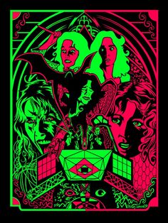 Suspiria Wheeler Blacklight 4 26 13 [Random Cool] Groovy Blacklight Suspiria Poster For Your Bedroom