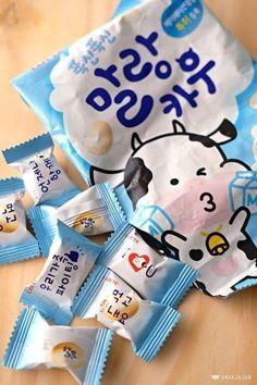 Fish Snacks, Junk Food Snacks, Asian Snacks, Korean Sweets, Korean Cake, Korean Food, Instant Recipes, Sweet Recipes, Snack Recipes