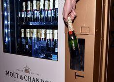 Mandarin Oriental Las Vegas installs a Moet Chandon champagne vending machine
