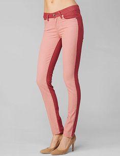 Paige Denim - Emily Ultra Skinny - Vintage Red / Pink