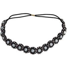Stirnband-Strass-Perlen-Haarband-Kopfband-Zopfgummi-Haarschmuck-Kopfschmuck