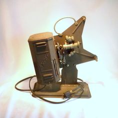 Vintage Excel 16mm Movie Projector from 1930 era by FlyingIrish, $27.45