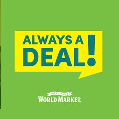 For home essentials that won't break the bank, check out Cost Plus World Market! Our Always A Deal products are value priced every day, making it easy for you to update your living room and home office on a budget!