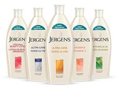 Free Bottle of Jergens Lotion (Canada only)