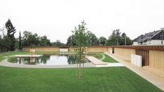 Riehen Natural Swimming Pool by Herzog & de Meuron