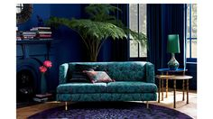 Find one-of-a-kind eclectic furniture and home decor in our collaboration with British fashion designer Matthew Williamson. Eclectic Furniture, Home Decor Furniture, Modern Furniture, Office Furniture, Matthew Williamson, My Living Room, Living Room Decor, Apartment Sofa, At Home Store